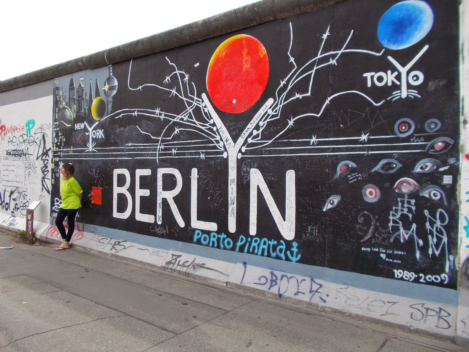 Eastside Gallery Berlin, 2014