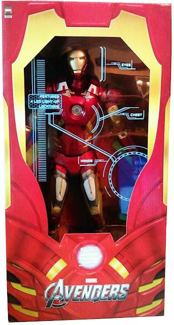 NECA 1/4 Scale Avengers Iron Man Mark Mk VII Figure - Boxed Images