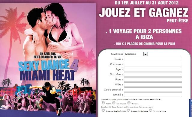 Jeu speedrabbitpizza: gagnez un voyage à Ibiza pour 2 personnes et 150 places de cinéma