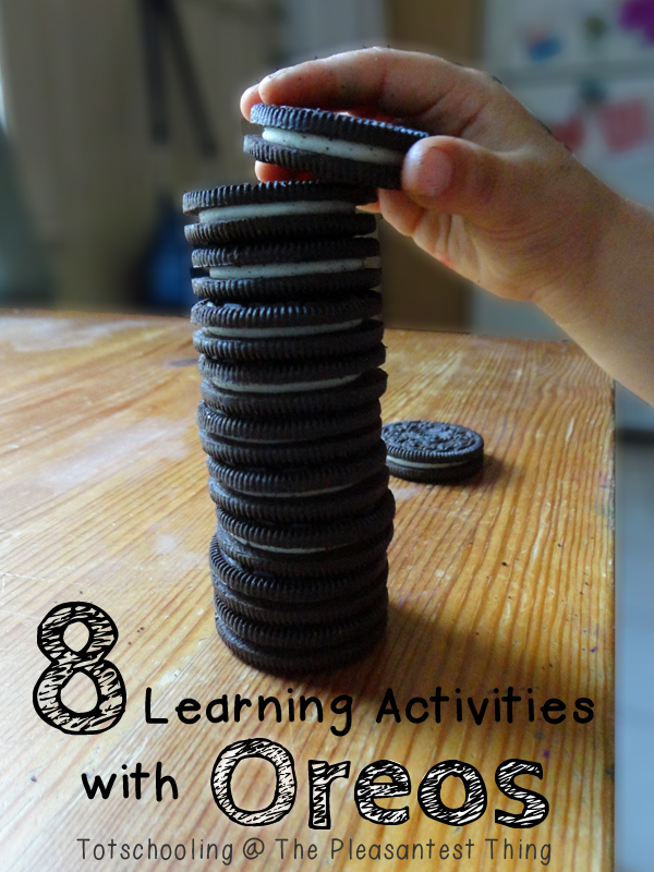 8 Learning Activities with Oreos