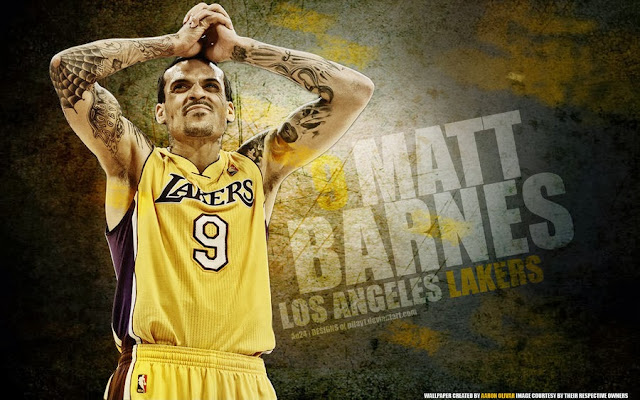 Matt Barnes wallpapers lakers