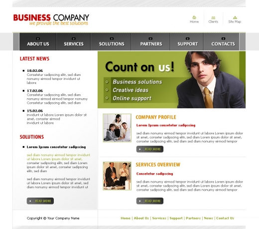 Accounting Website Templates4