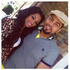 Karlie Redd and Ramsey Noah