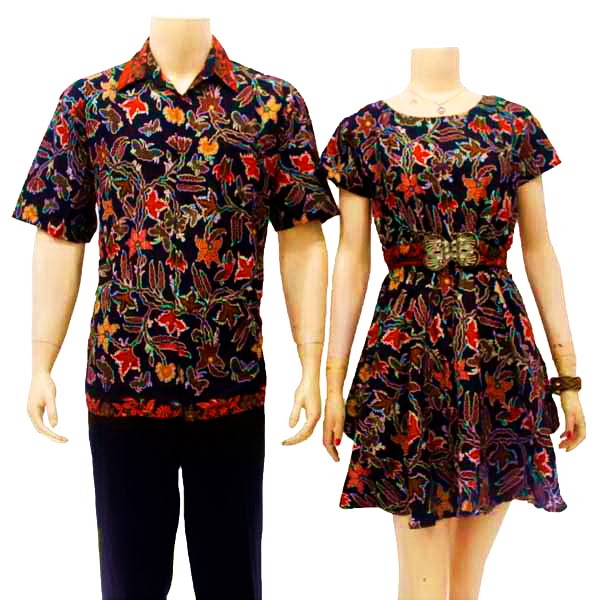 Sarimbit Dress Batik Modern Solo ( SD 2835 )