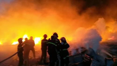 Cuộc chiến với khói lửa tại Nhà máy Diana Bắc Ninh
