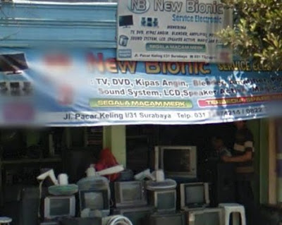 alamat service elektronik surabaya