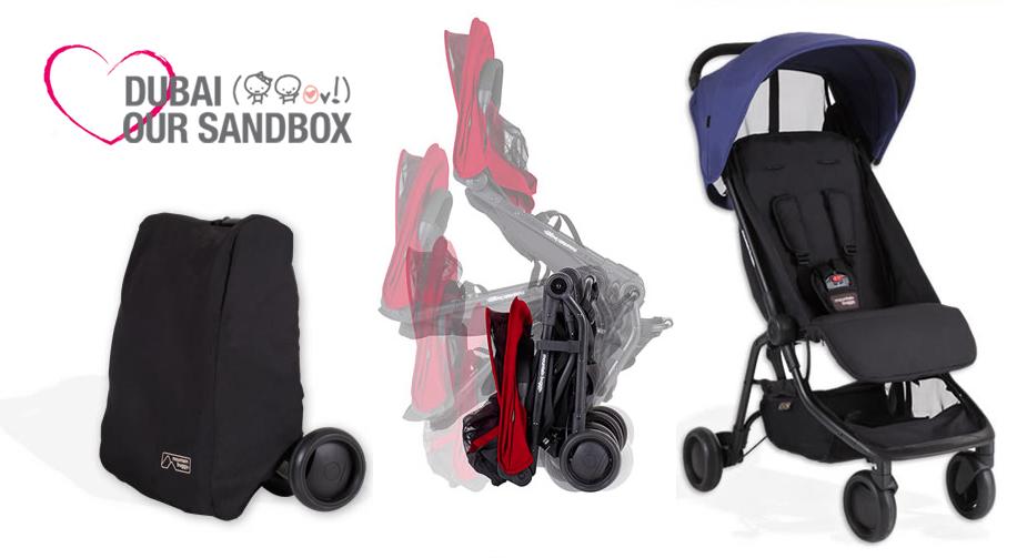 dubai our sandbox mountain buggy nano our new find love. Black Bedroom Furniture Sets. Home Design Ideas