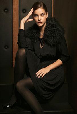 vestido negro Massimo Dutti fiesta