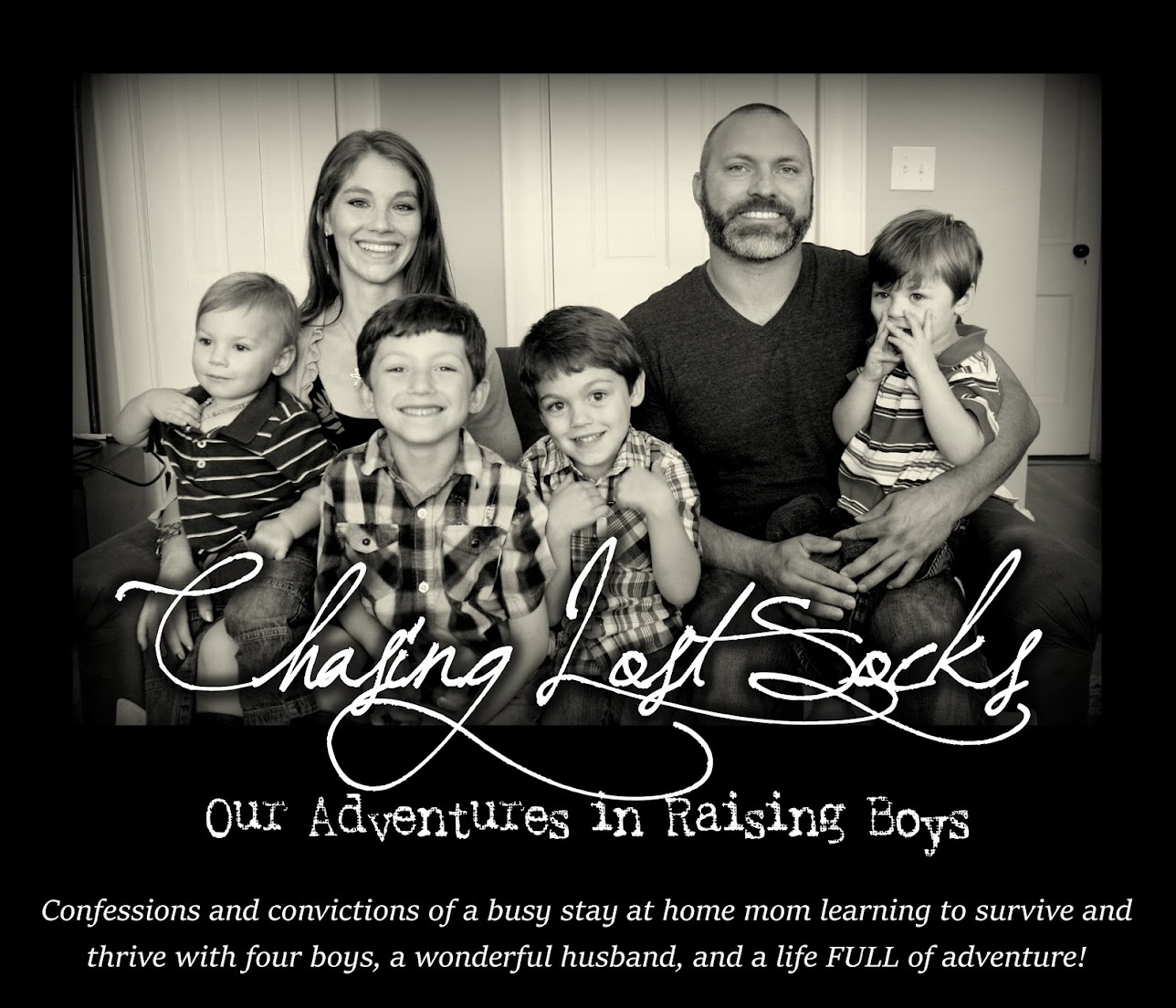 Chasing Lost Socks: Our Adventures in Raising Boys