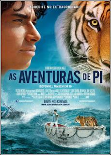 Download - As Aventuras de Pi DVDRip - AVI - Dual Áudio