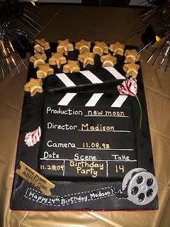 movie party cake,party cake,movie party,movie party ideas,movie parties