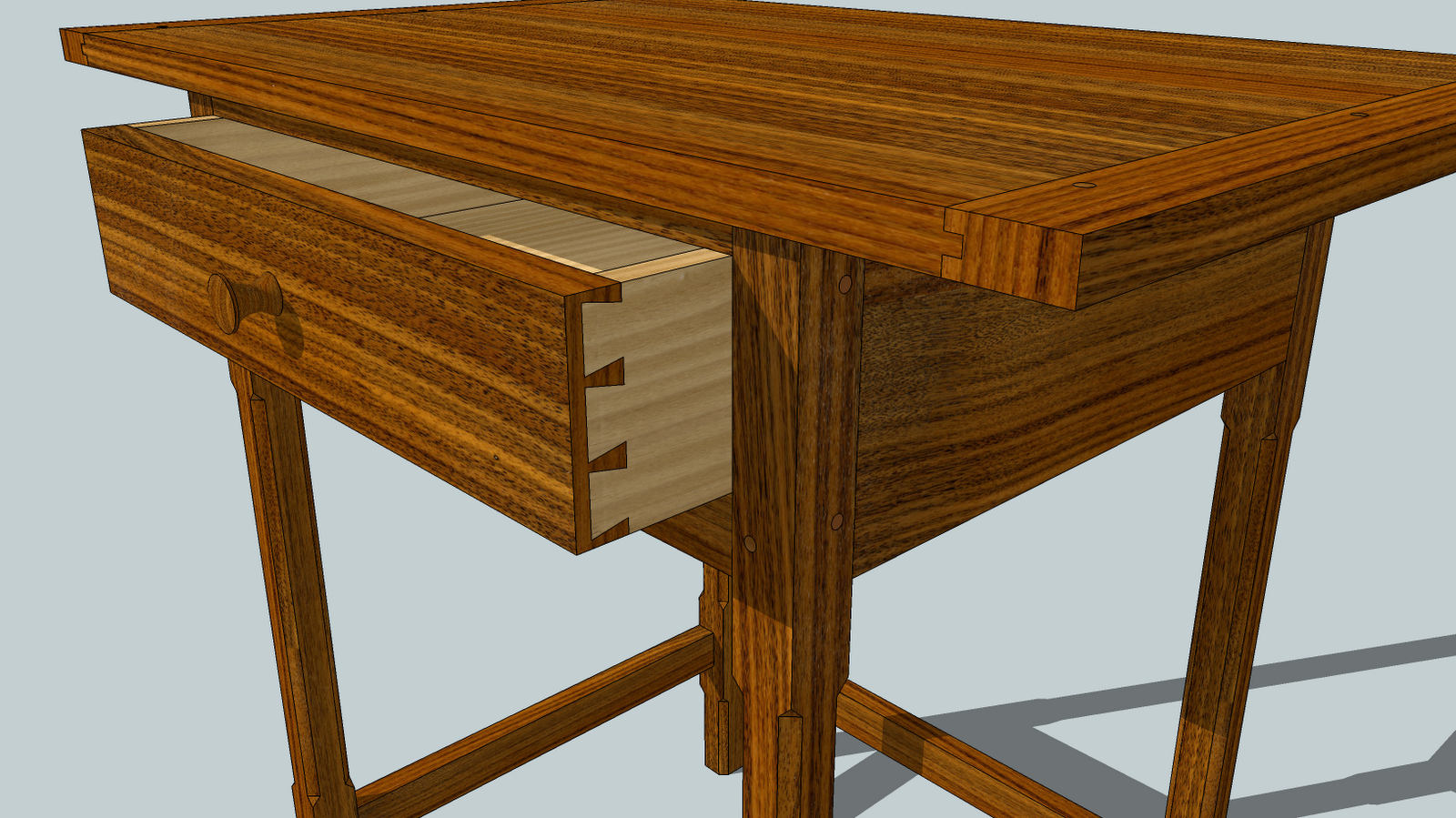 woodworking sketchup