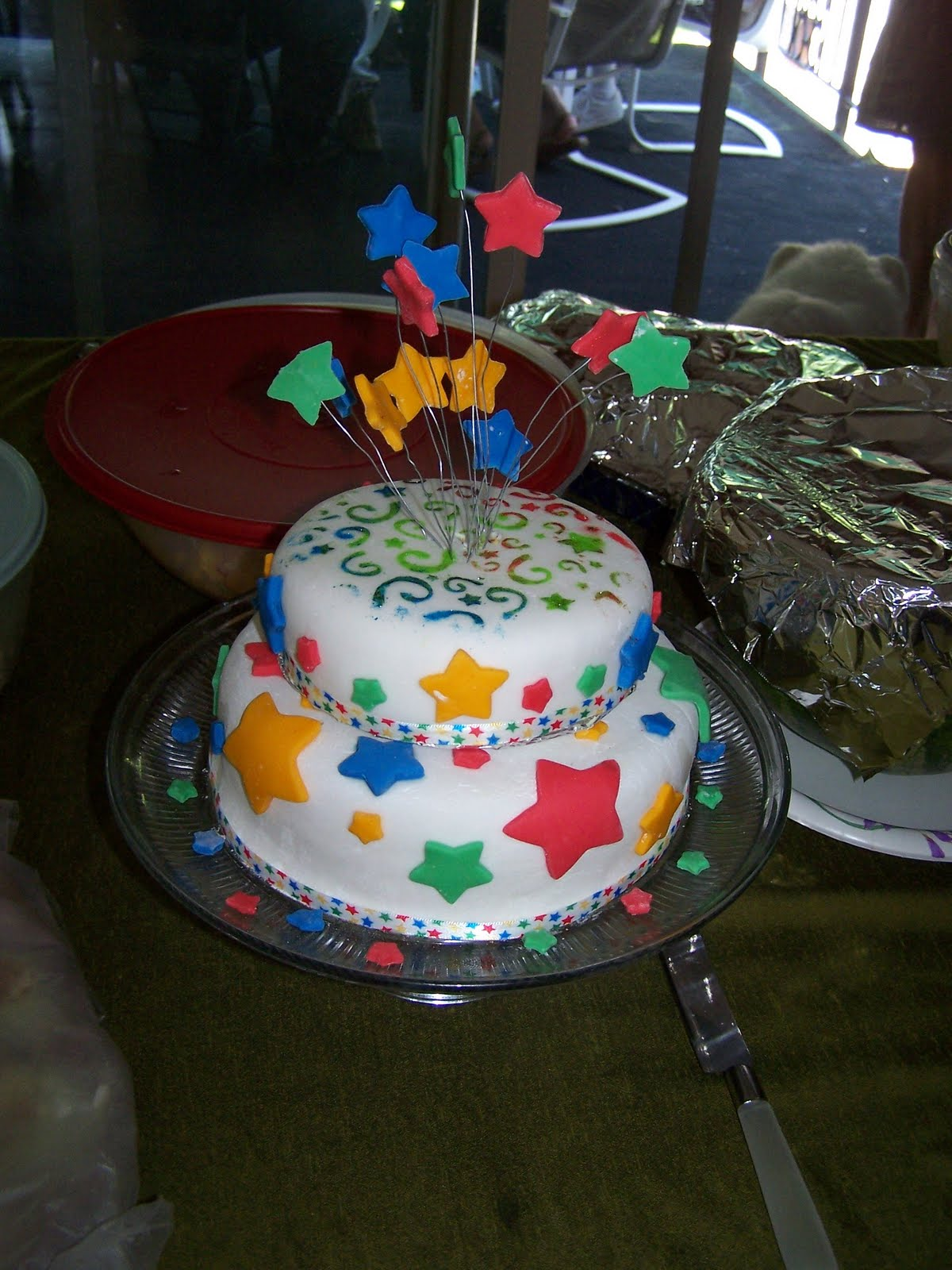 Cake Decoration Ideas For Church : Oiralinde: Decorating Cakes