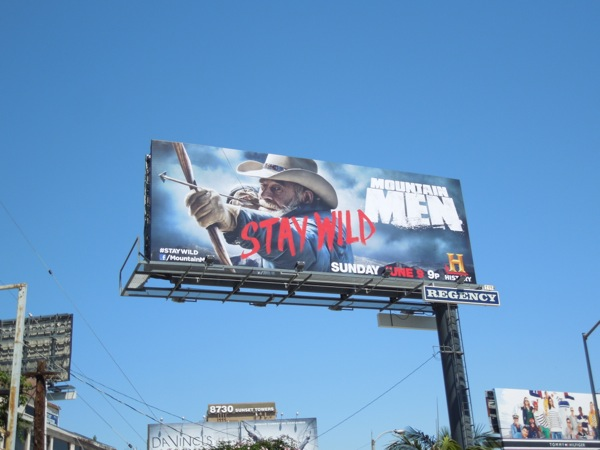 Mountain Men 2 Stay Wild billboard