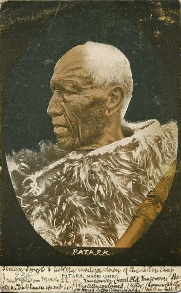 Moko Maoryski Tatuaż