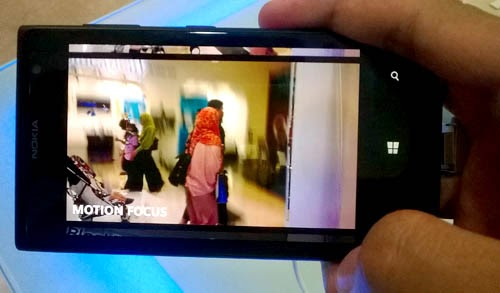 NOKIA Smart Cam - Lumia 1020 - Motion Picture
