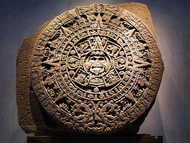 Aztec stone of the five suns jennys journal: mexican culture
