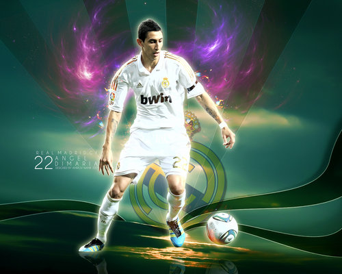 Angel Di Maria Real Madrid Wallpaper