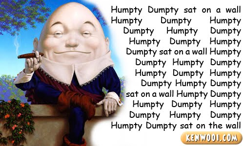 hempty dumpty rap