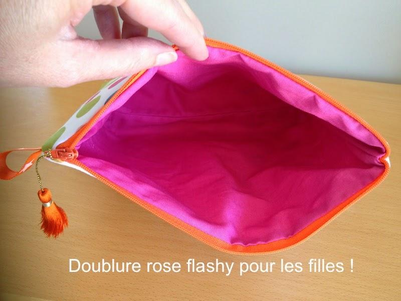 Cmoikikou trousse pochette doubl e fermeture clair tuto gratuit diy couture - Tuto trousse doublee avec fermeture eclair ...