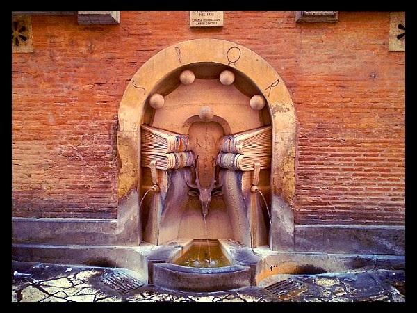 Fontanna na Palazzo della Sapienza