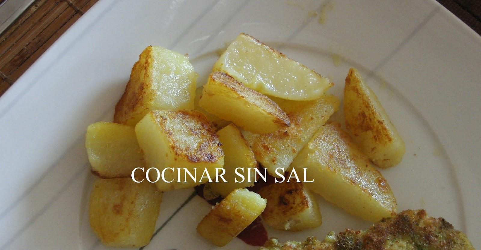 Cocinar sin sal patatas salteadas sin sal - Cocinar sin sal ...