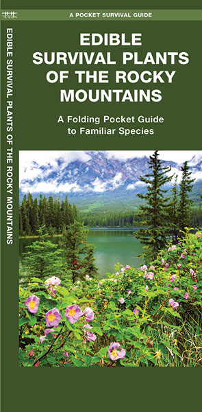 Rocky Mountain Bushcraft's Edible Survival Plants Guide now available!
