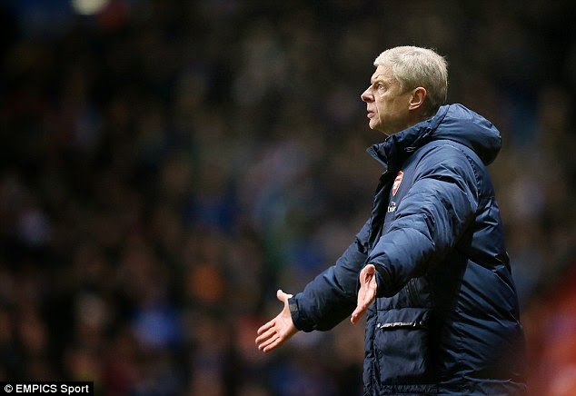 Wenger, Nigeria Jonathan  is a specialist in failure