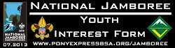 2013 Youth Interest Form