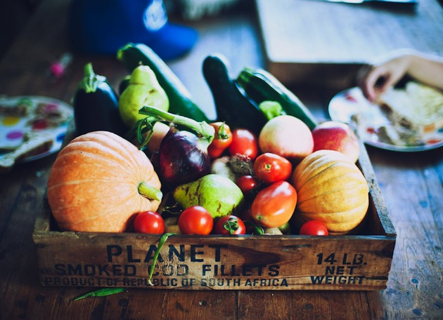 vegetables to choose organic