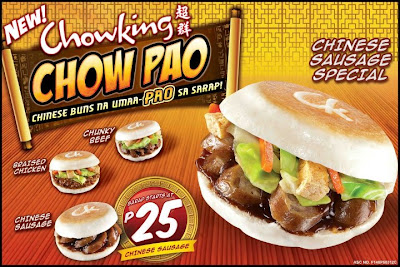 Chow Pao of Chowking menu