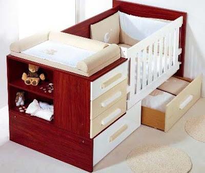Pon linda tu casa hermosas cunas for Cunas para bebes de madera