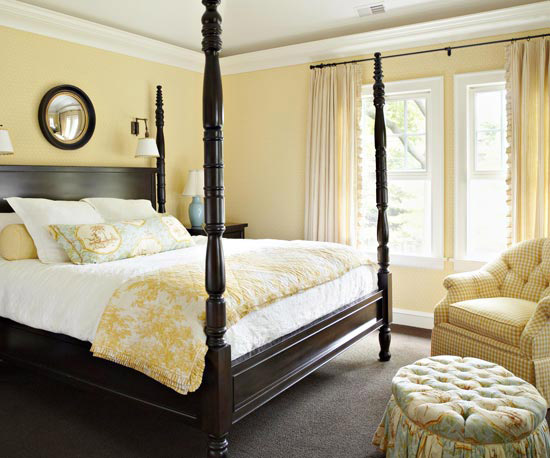 Childrens curtains tips on great sources for creative for Bedroom designs yellow
