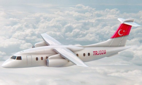 Turkey Regional aircraft TRJ328