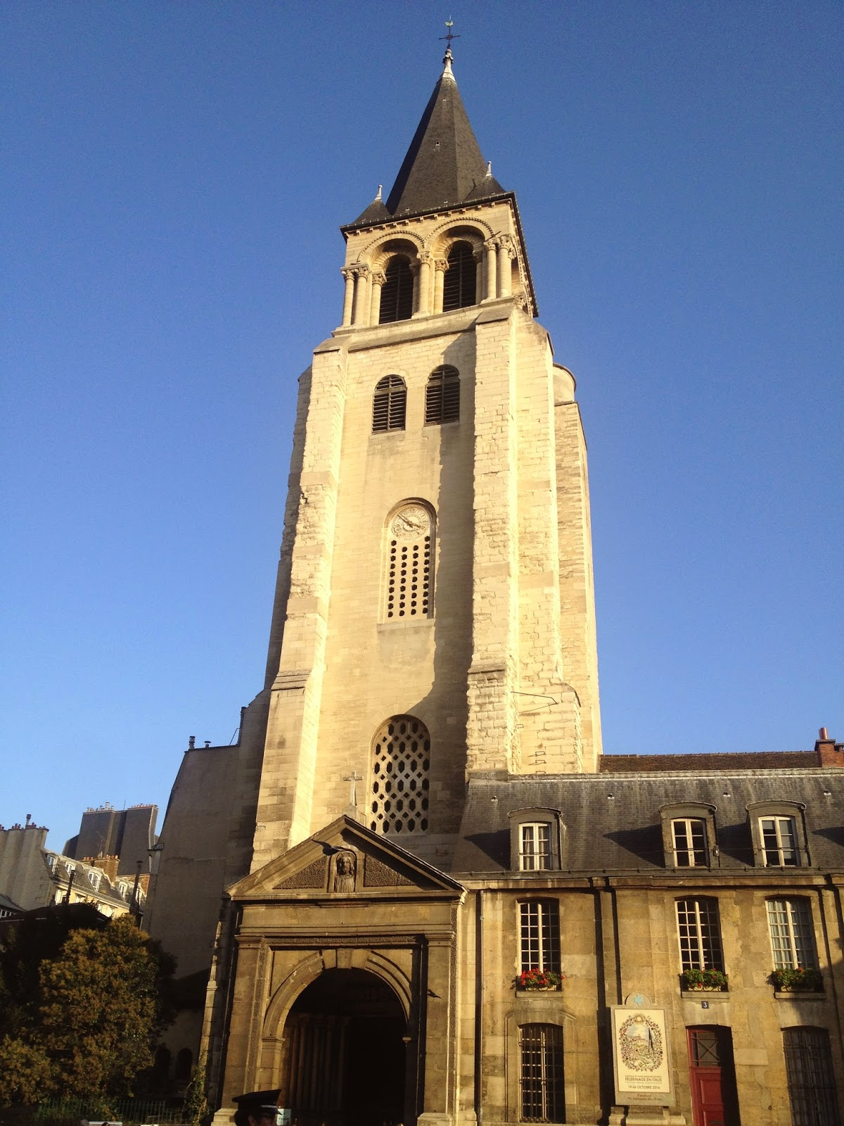 L'église Saint-Germain, Paris