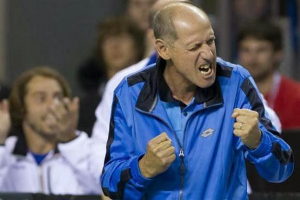 Corrado Barazutti Italia Davis Cup Capitan