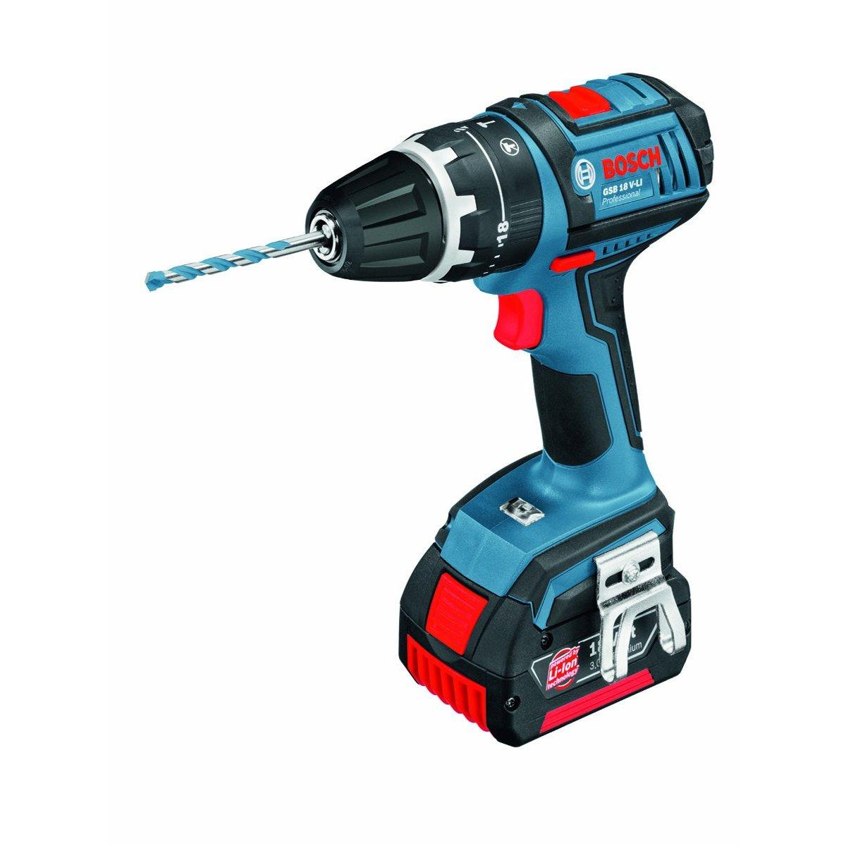 genuine tool reviews from a working tradesman bosch gsb v li professional combi drill 18 volt. Black Bedroom Furniture Sets. Home Design Ideas