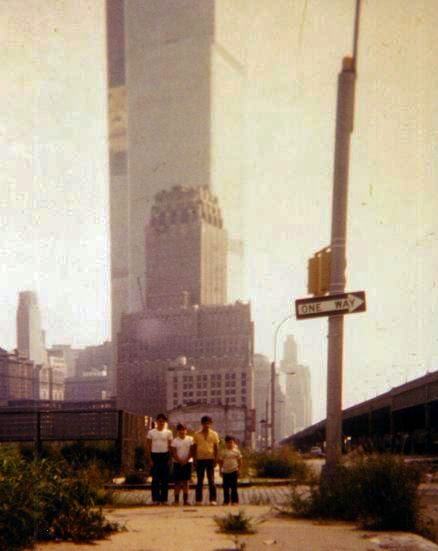 Tommy Mondello in NYC before WTC opened it's doors... 1972