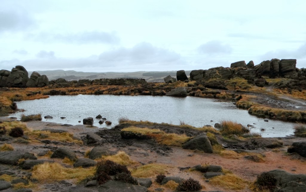 Doxey Pool, on the Roaches