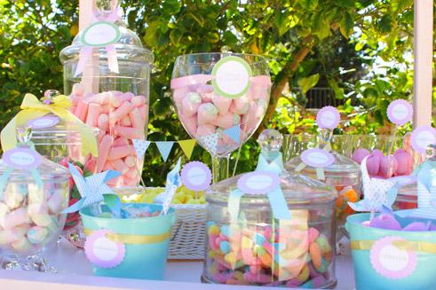 Momentips las mejores candy bar para bautizos y comuniones - Preparar mesa dulce para comunion ...