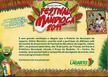 FESTIVAL DA MANDIOCA 2011 - LAGARTO/SE