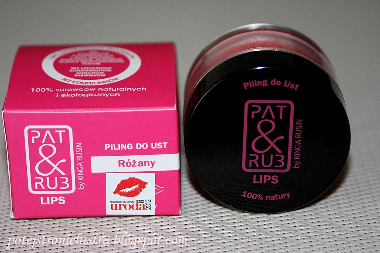 Różany peeling do ust P&R