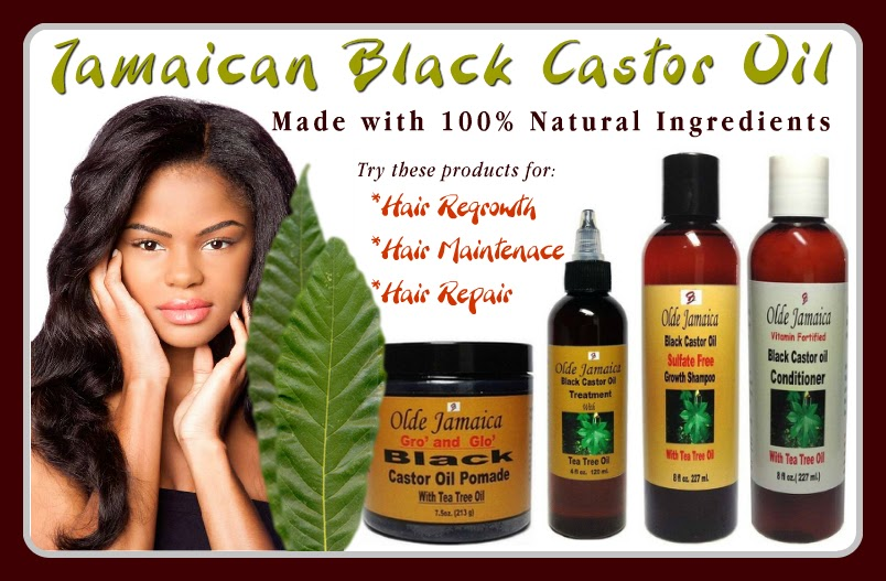 Black Jamaican Castor Oil, Hair Care Products for Regrowth, Repair & Maintenance