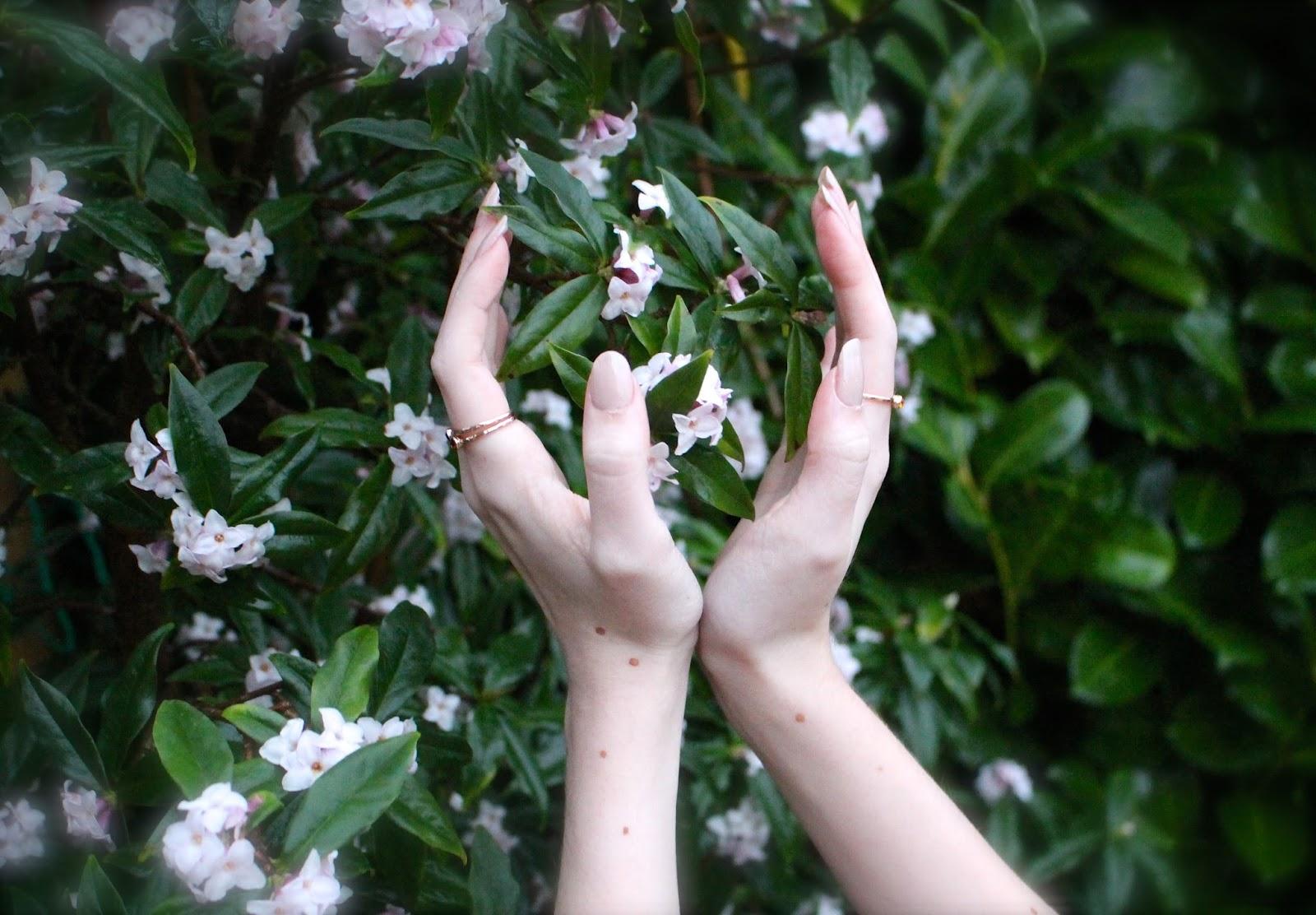 hand photography nail polish