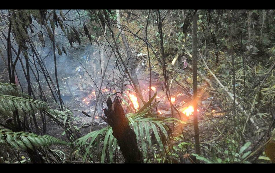 Kemalangan helikopter mengorbankan Tan Sri Dr Jamaluddin Jarjis