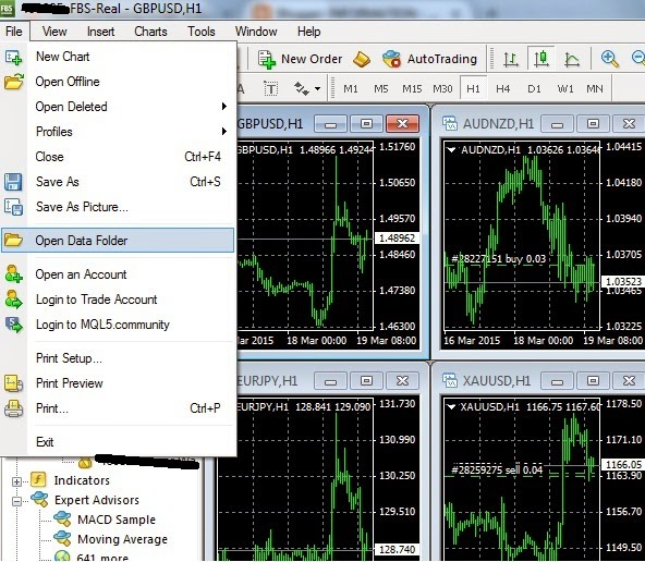 Download robot forex fbs
