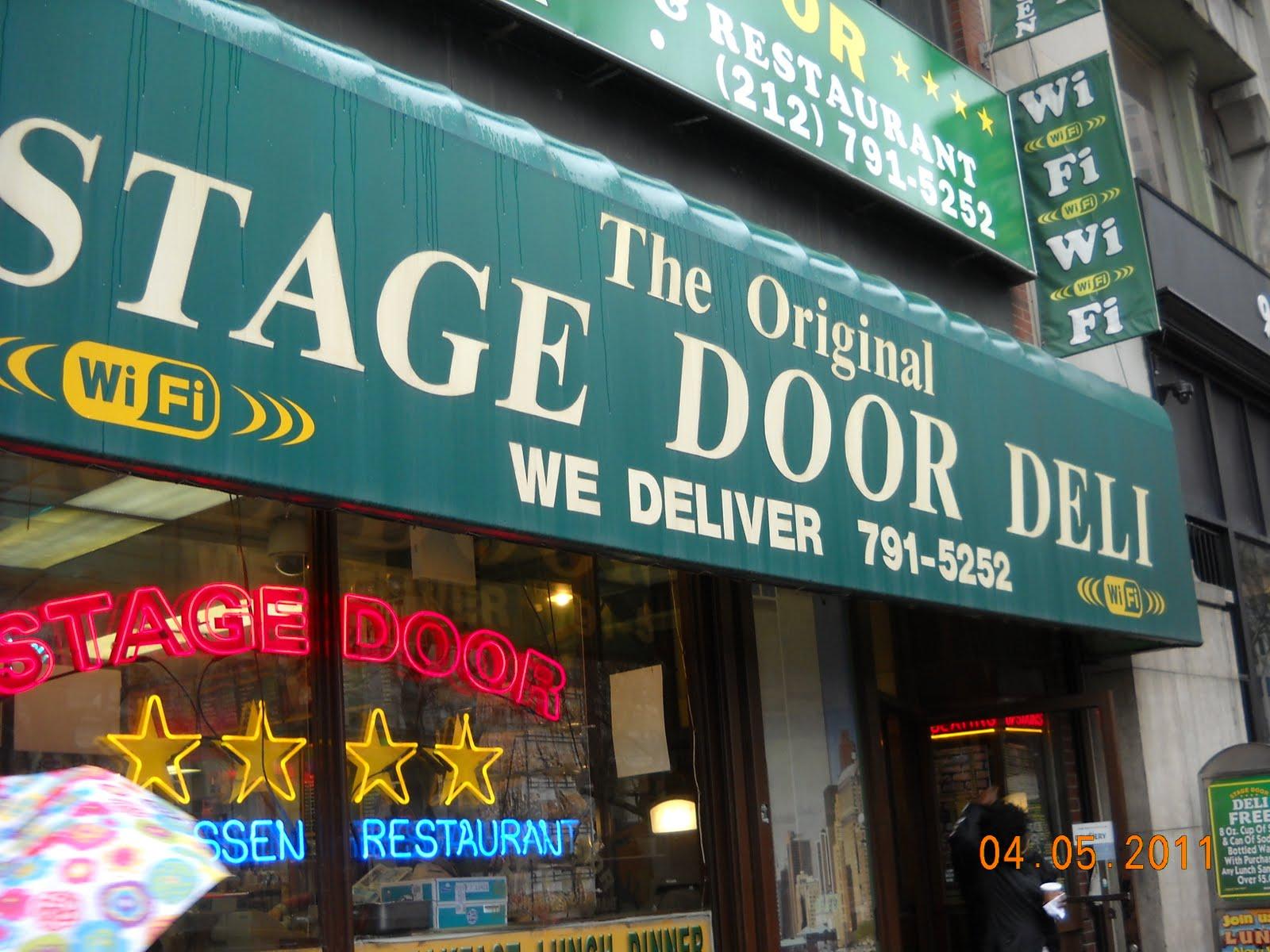 Spotlight on Sandwiches at Stage Door Deli & Eating My Way Through OC: Spotlight on Sandwiches at Stage Door Deli