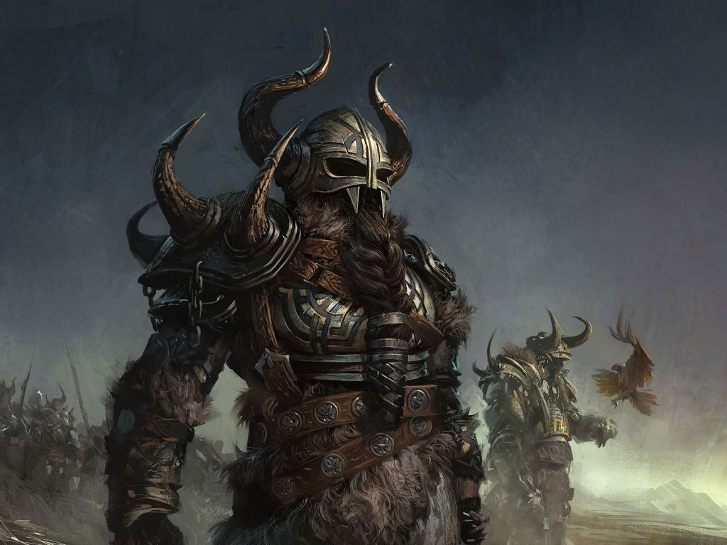 Norse Art Pictures of Viking War...