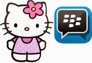 download bbm hellokitty versi maintab free stiker