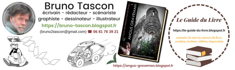 Bruno TASCON (Ecrivain Scénariste Graphiste) - Ateliers Créatifs - Lorient Vannes Paris